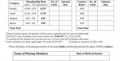 Membership 2019/2020